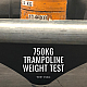 How much weight can a trampoline hold?