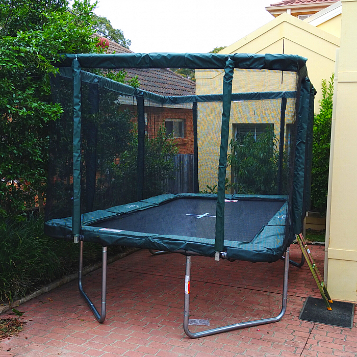 Best Trampolines for small backyard and garden space.