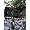How to repair a trampoline net zipper