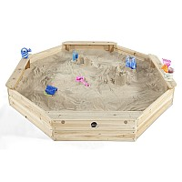 Plum® Giant Octagonal Wooden Sand Pit