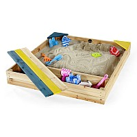 Plum® Store-it Wooden Sandpit