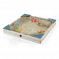 Plum® Junior Wooden Sandpit