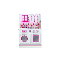 Plum® 2 in 1 Dolls House and Kitchen