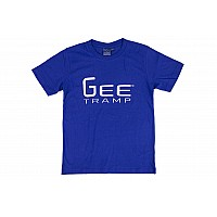 GeeTramp Keep Flipn T-Shirt - Royal Blue