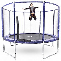 12ft Round Trampoline With Free Ladder