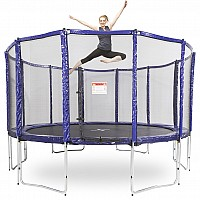 14ft Round Trampoline With Free Ladder