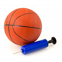 Trampoline Basketball Ball & Pump Set
