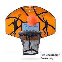 GeeTramp Curve Basketball Set