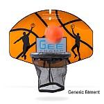 GeeTramp Trampoline Basketball Set
