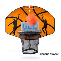 GeeTramp Trampoline Basketball Set