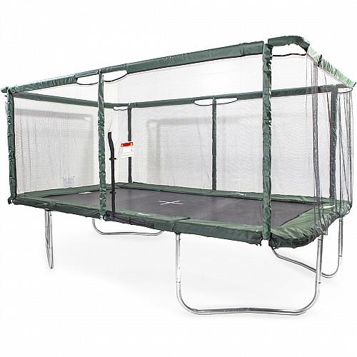 GeeTramp Force 10x17ft Rectangle Trampoline - High Bounce