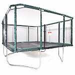 GeeTramp Force 14x16ft Rectangle Trampoline - High Bounce /w AU Springs