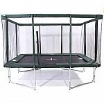 GeeTramp Force 8x12ft Rectangle Trampoline - High Bounce