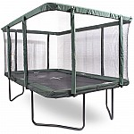 GeeTramp Force 9x14ft Rectangle Trampoline - Black Edition - High Bounce /w AU Springs