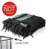 GeeTramp Force 10x17ft (6 Pole) Net - Q2/Q3/Q4