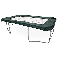 GeeTramp StringPro 9x14ft Rectangle Gymnastic Trampoline - In Ground