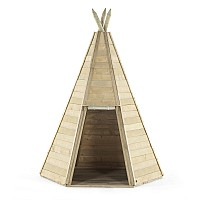 Plum® Great Wooden Teepee Hideaway