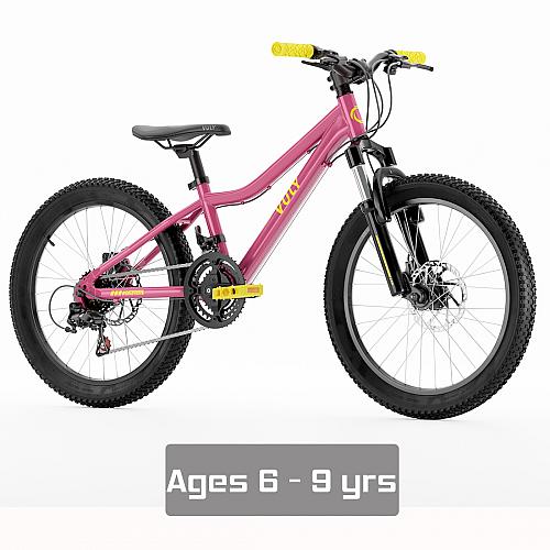 """Vuly 20"""" Kids Bike - Pink"""