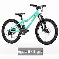 """Vuly 20"""" Kids Bike - Teal"""