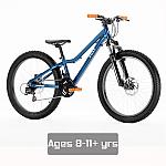 """Vuly 24"""" Kids Bike - Blue/Orange"""