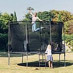 Plum® 12ft Space Zone Spring Safe ® Trampoline
