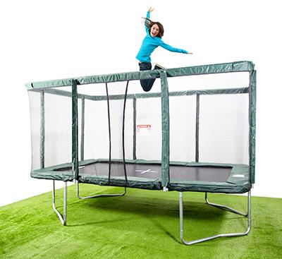 Trampoline gymnastics