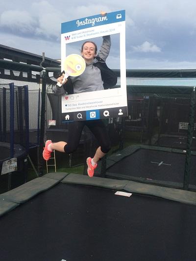 girl-on-trampoline-with-emoji