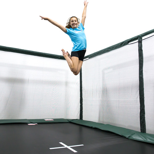 10x17ft Rectangle Trampoline Standard Mat W Free Ladder