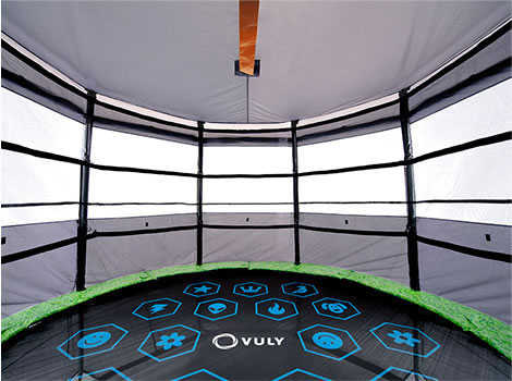 Vuly Tr&oline Tent - Vuly Classic 12ft Overview & Vuly Trampoline Tent - Vuly Classic 12ft - TVT-VC-12
