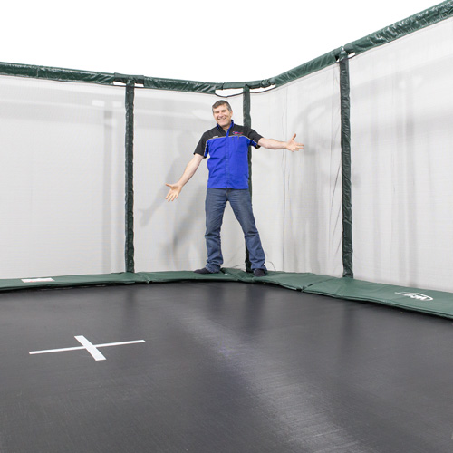 14x16ft Rectangle Trampoline