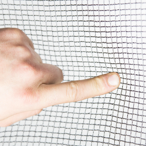 Trampoline Net Close Up